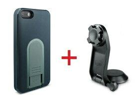 【即納】Intuitive Cube Japan X-Guard iPhone SE/5/5s用ケース(ブラック)&三脚ホルダーセット [LG-MA03-0218_LG-XC05-0188_SET]|| ハードケース カバー iPhone5 iPhone5s カメラ スマホ 固定 旅行 黒 アイフォン5 おしゃれ 海外ブランド 【newyear_d19】