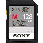 SONY SDXC UHS-II メモリーカード Class10 128GB [SF-M128]