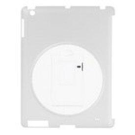 グリーンハウス iPadシェルカバー 回転スタンド付き クリア GH-CA-IPADRC [GH-CA-IPADRC]