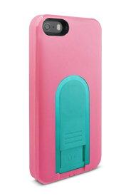 【即納】Intuitive Cube X-Guard iPhone SE/5/5s用ケース(ピーチ)[LG-MA03-0128]|| ハードケース カバー iPhone5 iPhone5s ピンク アイフォン5 おしゃれ 海外ブランド おもしろ 【newyear_d19】