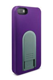 【即納】Intuitive Cube X-Guard iPhone SE/5/5s用ケース (パープル)[LG-MA03-0238]|| ハードケース カバー iPhone5 iPhone5s 紫 アイフォン5 おしゃれ 海外ブランド おもしろ 【newyear_d19】