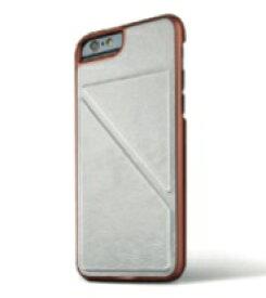 【即納】Intuitive Cube U-Protector iPhone6/6s用ケース (ホワイト)[LG-MA08-4515]|| レザー カバー スタンド カード収納 アイフォン6 白 iPhone6s おしゃれ 海外ブランド おもしろ 【newyear_d19】