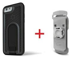 Intuitive Cube Japan X-Guard iPhone6/6s用ケース(ブラック)&ベルトクリップセット [LG-MA08-3218_LG-XC01-0258_SET]|| ハードケース カバーアイフォン6 黒 iPhone6s おしゃれ 海外ブランド おもしろ 【newyear_d19】