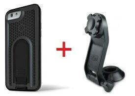 Intuitive Cube Japan X-Guard iPhone6/6s用ケース(ブラック)&ステムホルダーセット [LG-MA08-3218_LG-XC03-0188_SET]|| ハードケース カバー バイク 自転車 アイフォン6 黒 iPhone6s おしゃれ 海外ブランド おもしろ 【newyear_d19】