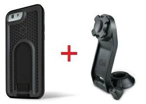 Intuitive Cube Japan X-Guard iPhone6/6s用ケース(ブラック)&ステムホルダーセット [LG-MA08-3218_LG-XC03-0188_SET]|| ハードケース カバー バイク 自転車 アイフォン6 黒 iPhone6s おしゃれ 海外ブランド おもし