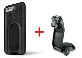 Intuitive Cube Japan X-Guard iPhone6/6s用ケース(ブラック)&三脚ホルダーセット [LG-MA08-3218_LG-XC05-0188_SET]|| ハードケース カバー カメラ スマホ 固定 旅行 アイフォン6 黒 iPhone6s おしゃれ 海外ブランド おもしろ 【newyear_d19】