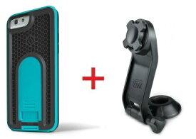 Intuitive Cube Japan X-Guard iPhone6/6s用ケース(ブルー)&ステムホルダーセット [LG-MA08-3208_LG-XC03-0188_SET]|| ハードケース カバー バイク 自転車 アイフォン6 青 iPhone6s おしゃれ 海外ブランド おもしろ 【newyear_d19】