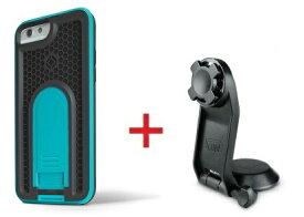 Intuitive Cube Japan X-Guard iPhone6/6s用ケース(ブルー)&三脚ホルダーセット [LG-MA08-3208_LG-XC05-0188_SET]|| ハードケース カバー カメラ スマホ 固定 旅行 アイフォン6 青 iPhone6s おしゃれ 海外ブランド おもしろ 【newyear_d19】