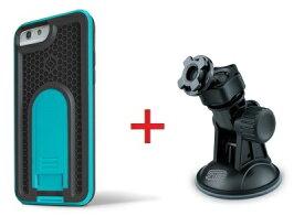 【即納】Intuitive Cube Japan X-Guard iPhone6/6s用ケース(ブルー)&吸盤スタンドセット [LG-MA08-3208_LG-XC06-0188_SET]|| ハードケース カバー 車載ホルダー 吸盤式 アイフォン6 青 iPhone6s おしゃれ 海外ブランド おもしろ 【newyear_d19】