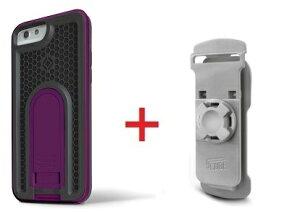 Intuitive Cube Japan X-Guard iPhone6/6s用ケース(パープル)&ベルトクリップセット [LG-MA08-3238_LG-XC01-0258_SET]|| ハードケース カバー リュック アイフォン6 紫 iPhone6s おしゃれ 海外ブランド おもしろ 【n