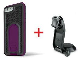 Intuitive Cube Japan X-Guard iPhone6/6s用ケース(パープル)&三脚ホルダーセット [LG-MA08-3238_LG-XC05-0188_SET]|| ハードケース カバー カメラ スマホ 固定 旅行 アイフォン6 紫 iPhone6s おしゃれ 海外ブランド おもしろ 【newyear_d19】
