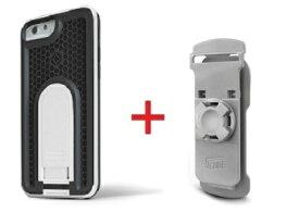 Intuitive Cube Japan X-Guard iPhone6/6s用ケース(ホワイト)&ベルトクリップセット [LG-MA08-3118_LG-XC01-0258_SET]|| ハードケース カバーアイフォン6 白 iPhone6s おしゃれ 海外ブランド おもしろ 【newyear_d19】