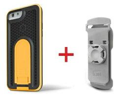 Intuitive Cube Japan X-Guard iPhone6/6s用ケース(イエロー)&ベルトクリップセット [LG-MA08-3178_LG-XC01-0258_SET]|| ハードケース カバーアイフォン6 黄 iPhone6s おしゃれ 海外ブランド おもしろ 【newyear_d19】