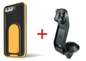 Intuitive Cube Japan X-Guard iPhone6/6s用ケース(イエロー)&ステムホルダーセット [LG-MA08-3178_LG-XC03-0188_SET]|| ハードケース カバー バイク 自転車 アイフォン6 黄 iPhone6s おしゃれ 海外ブランド おもしろ 【newyear_d19】