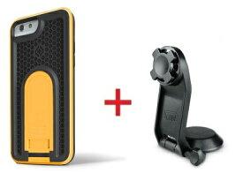 Intuitive Cube Japan X-Guard iPhone6/6s用ケース(イエロー)&三脚ホルダーセット [LG-MA08-3178_LG-XC05-0188_SET]|| ハードケース カバー カメラ スマホ 固定 旅行 アイフォン6 黄 iPhone6s おしゃれ 海外ブランド おもしろ 【newyear_d19】