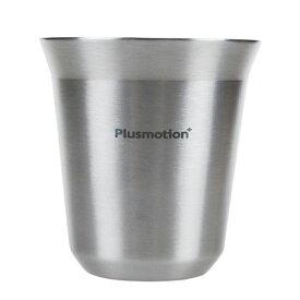 ロジック Plusmotion ステンレス コーヒーカップ 4セット ( コーヒーカップ シルバー)アウトドア キャンプ コーヒーミル zpro LG-PM-SC4