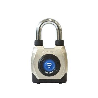 【即納】【送料無料】eGee Touch スマートロック 防水 ショートシャックル 南京錠 防犯 パッドロック NFC Bluetooth [LG-GT2100-S]