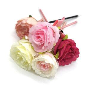 ゴージャスな大きいお花がお祝いごとにぴったり♪ウェディングアイテムとしても使えるボールペン。 [LG-PEN-FLOWER] 花 お花 ペン ボールペン 文房具 結婚式 ウェディング ブライダル プチギフ