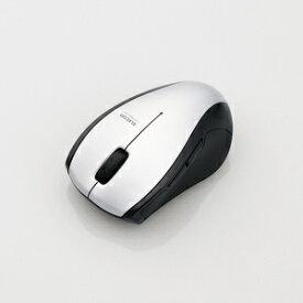 【即納】エレコム BlueLEDマウス/M-BT16シリーズ/Bluetooth3.0/5ボタン/シルバー [M-BT16BBSSV]|| ELECOM