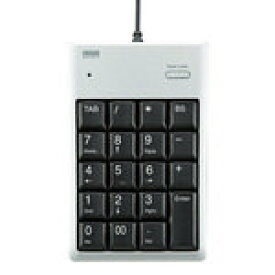 サンワサプライ USB2.0ハブ付テンキー(シルバー) NT-16UH2PKN [NT-16UH2PKN]|| SANWA
