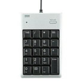 サンワサプライ USB2.0ハブ付テンキー(シルバー) NT-16UH2SVN [NT-16UH2SVN]|| SANWA