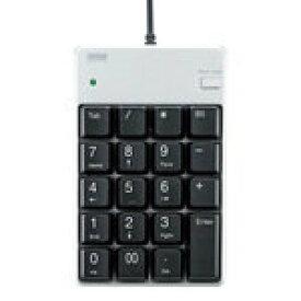 サンワサプライ USB2.0ハブ付テンキー(シルバー) NT-17UH2SVN [NT-17UH2SVN]|| SANWA