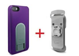 【即納】Intuitive Cube Japan X-Guard iPhone SE/5/5s用ケース(パープル)&ベルトクリップセット [LG-MA03-0238_LG-XC01-0258_SET]|| ハードケース カバー iPhone5 iPhone5s紫 アイフォン5 おしゃれ 海外ブランド おもしろ 【newyear_d19】