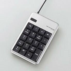 エレコム Excel操作に最適なUSBテンキーボード シルバー TK-TCM011SV [TK-TCM011SV]|| ELECOM