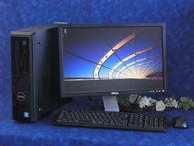 スタイリッシュPC ■ DELL Vostro 230■液晶付セット ■ Windows7 Professional ■ Core2 Duo E8400 ■ メモリ 4GB■ HDD 500GB ■ DVDマルチドライブ搭載 ■ 中古パソコン