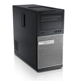 高拡張ミニタワーPC 信頼のOS 安定の Windows 7 Professional SP3■ Core i5 3470 ■ DELL OptiPlex 7010 MT ■ メモリ 8GB ■ HDD 500GB ■ DVDドライブ搭載 ■ 中古パソコン