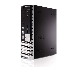超小型PC 信頼のOS Windows XP Professional SP3 ■ Core2 Duo E7500 ■ DELL optiplex 780 USFF ■ メモリ 4GB ■ HDD 160GB ■ DVDドライブ搭載 ■ 中古パソコン