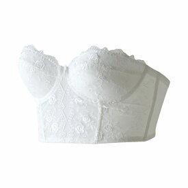 ブライダルインナー セミロングブラジャー B/C/D/E/F/Gカップ【日本製・高品質】単品セミロング丈ブラジャー ウェディングインナー ウエディング インナー ウェディング wedding bridal inner