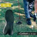 TENTIAL GOLF INSOLE +CARBON テンシャル ゴルフインソール カーボンあり(靴底 中敷き プロゴルファー愛用…