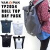 YAK PAK roll top day Pack (yak pak Jack Pack / backpack / bag / roll top and backpack / men combined /YP2054) fs04gm