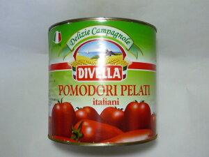 最速出荷!! 平日午前中のご注文は当日出荷!! ディベラ ホールトマト 業務用 2500g (イタリア産)