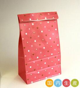 【ポイント5倍 SS期間限定!】T22 スクエアバッグM ドット 20枚 メール便メール便対応個数:2個までラッピング 用品 袋 プレゼント 包装 お菓子 手作り 製菓用品