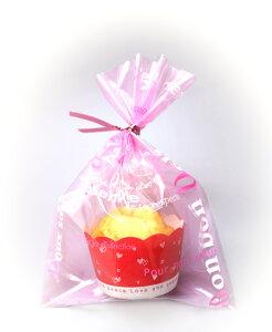 お菓子 ラッピング 袋 NB88 ラッピングパックS ピンクロゴ 30枚 メール便メール便対応個数:12個まで用品 袋 プレゼント 包装 お菓子 手作り 製菓用品