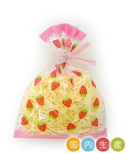お菓子 ラッピング 袋 Co51 ラッピングパックS いちご 100枚 メール便メール便対応個数:2個まで用品 袋 プレゼント 包装 お菓子 手作り 製菓用品