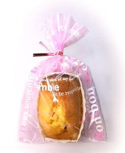 お菓子 ラッピング 袋 NB94 ラッピングパックM ピンクロゴ 30枚 メール便メール便対応個数:12個まで用品 袋 プレゼント 包装 お菓子 手作り 製菓用品