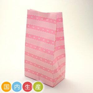 【ポイント5倍 SS期間限定!】Co48 スクエアバッグS レースリボン 20枚 メール便メール便対応個数:2個までラッピング 用品 袋 プレゼント 包装 お菓子 手作り 製菓用品