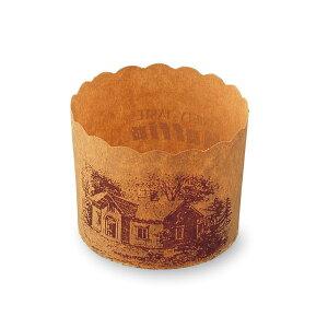 M404マフィンカップ(ハウス茶)・100枚 ロングセラー商品マフィンカップ・マフィン型・ベーキングカップ・紙製・焼型・ケーキカップ・ギフト・プレゼント・お菓子・手作り・製菓用品