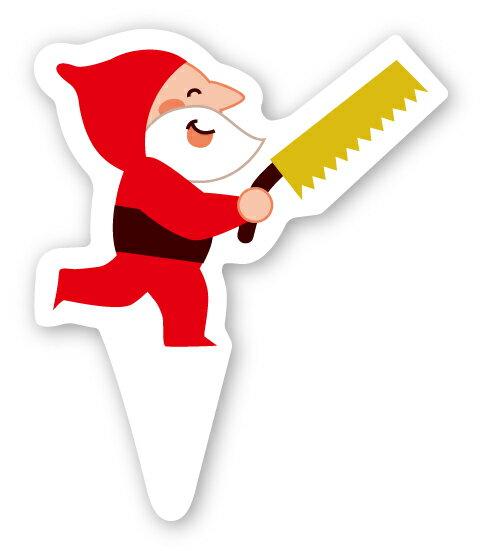 クリスマス2018 XG314 ケーキピック(ハッピーエルフ)100枚 メール便対応メール便対応個数:2個まで