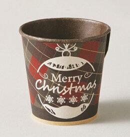 クリスマス2019 XC12-25 プチケーキカップ チェック 25枚 ジッパーなしタイプ ハロウィンカップ マフィンカップ フォンダンショコラ プチケーキ カップケーキ お菓子 手作り 製菓用品