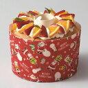 クリスマス XS945 シフォンカップ (ラブリーサンタ)50枚 ・ベーキングカップ・紙製・焼型・シフォンケーキ・お菓子…