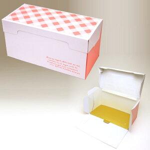 ロールケーキ ボックス (フレーズ) 5枚入 金台紙付き 菓子 箱 , ケーキ , ラッピング , テイクアウト ケーキ PA20D-5