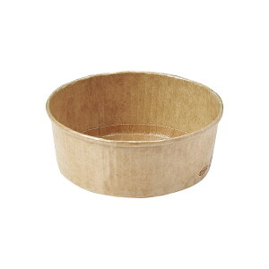 ロールカップ (クラフト) 100枚入 業務用 チーズケーキ 型 レアチーズケーキ ガトーショコラ RC503-100