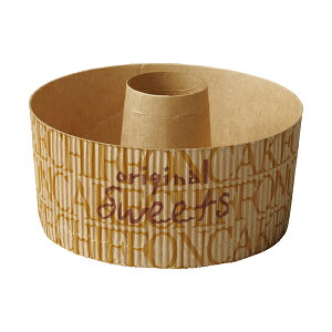 スモール シフォンカップ 12cm (シンプルロゴ) 25枚入 シフォンケーキ 型 ベーキングカップ ケーキ型 日本製 紙型 紙 紙製 焼型 プレゼント お菓子作り 手作り 製菓用品 SC838-25 ハロウィン ハロ
