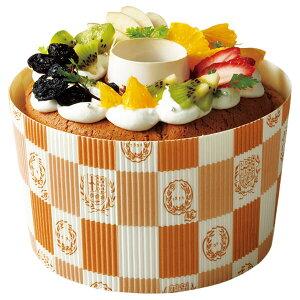 シフォンカップ 15cm (エンブレム白) 10枚入 シフォンケーキ 型 ベーキングカップ ケーキ型 日本製 紙型 紙 紙製 焼型 プレゼント お菓子作り 手作り 製菓用品 SC841-10 ハロウィン ハロウィーン H
