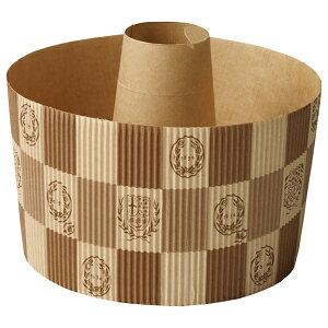 シフォンカップ 15cm (エンブレム茶 10枚入 シフォンケーキ 型 ベーキングカップ ケーキ型 日本製 紙型 紙 紙製 焼型 プレゼント お菓子作り 手作り 製菓用品 SC842-10 ハロウィン ハロウィーン HA