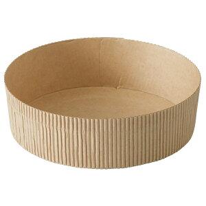 ソフト ベーキングカップ 15cm (クラフト) 10枚入 タルト型 12cm 15cm , ホールケーキ型 , スポンジケーキ SC8749-10